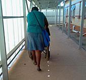 Caring for the destitute elderly with no support and little money