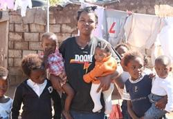 Tough life for children born into dire poverty