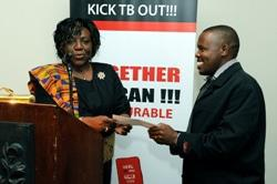 XDR-TB nurse recognised