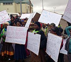 E Cape patients protest over poor service
