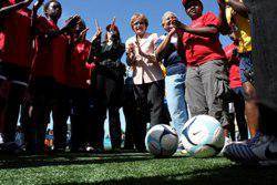 Reaching young people through soccer