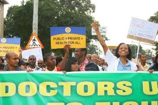 KZN supports doctors'€™ strike