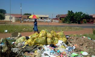 Garbage poses health threat to community