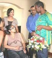 MEC visits doctor crippled by MDR TB
