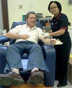 Blood donors save countless lives