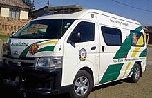Free State patients wait hours for ambulances