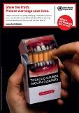 Graphic images on cigarette packs make smokers think