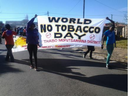 Bethlehem marches against tobacco