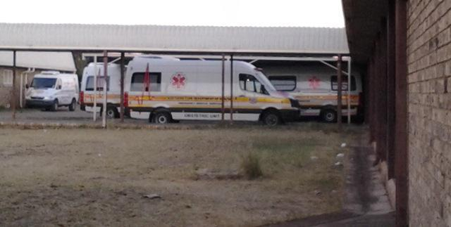 Ambulances unused for months