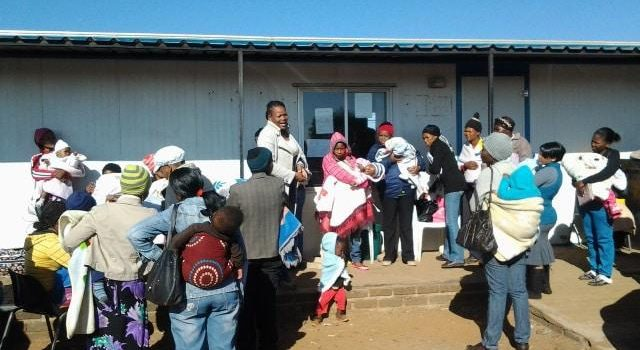 Free State clinic left to cope with a double patient load and no water