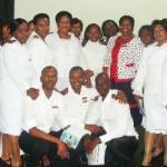 Lekwa & Chief Albert Luthuli nurses posing with the MEC Ms. Candith Mashego - Dlamini