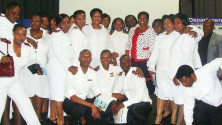 The Mpumalanga province graduation ceremony for NIMART nurses