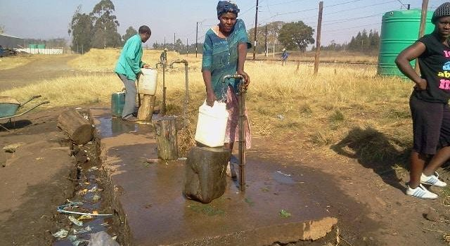 Tough living for the people of Zuzokuhle informal settlement