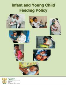 Infant and Young Child Feeding Policy (2013)