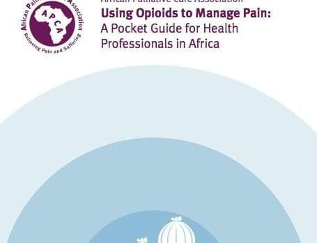 Using opioids to manage pain – A pocket guide for health professionals