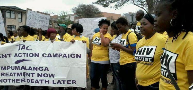 TAC demands better health care in Mpumalanga