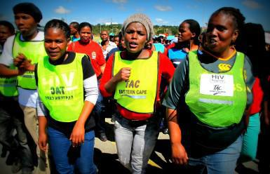 In 2013, TAC members protested against the alleged health systems collapse in the Eastern Cape. Now, the Free State seems to have followed in the Eastern Cape's footsteps