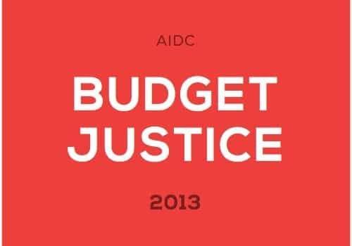 Booklet: Budget Justice
