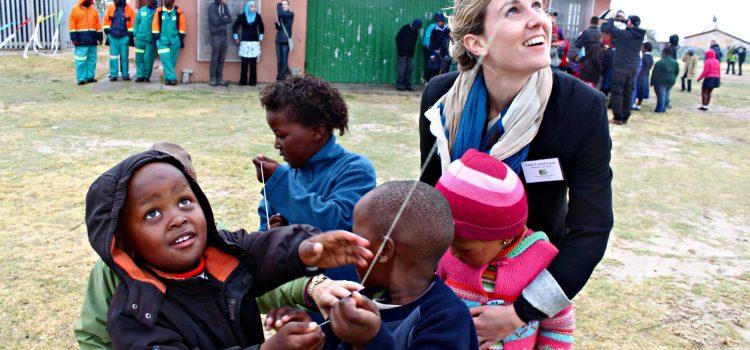 Kites lift mental health to new horizons