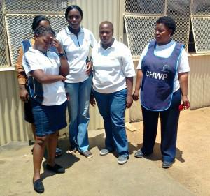 Community health workers like these from Tshwane have repeatedly asked to be made formal Department of Health employees (File photo)