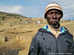 Alloys Mncedi Msuthu was a miner for more than 30 years. He was diagnosed with silicosis in 2009, and has had both TB and MDR-TB.
