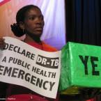 In 2014, activists urged South African Health Minister Dr Aaron Motsoaledi to declare drug-resistant TB a public health emergency