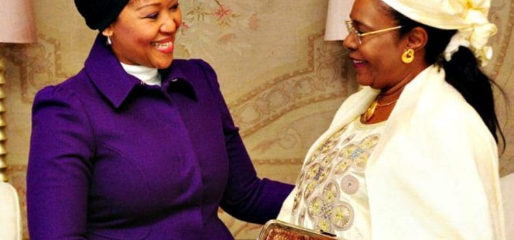 First lady puts women's cancer on Zuma's agenda