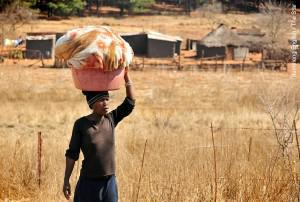 About 40 percent of South Africans live in rural areas, according to RHAP
