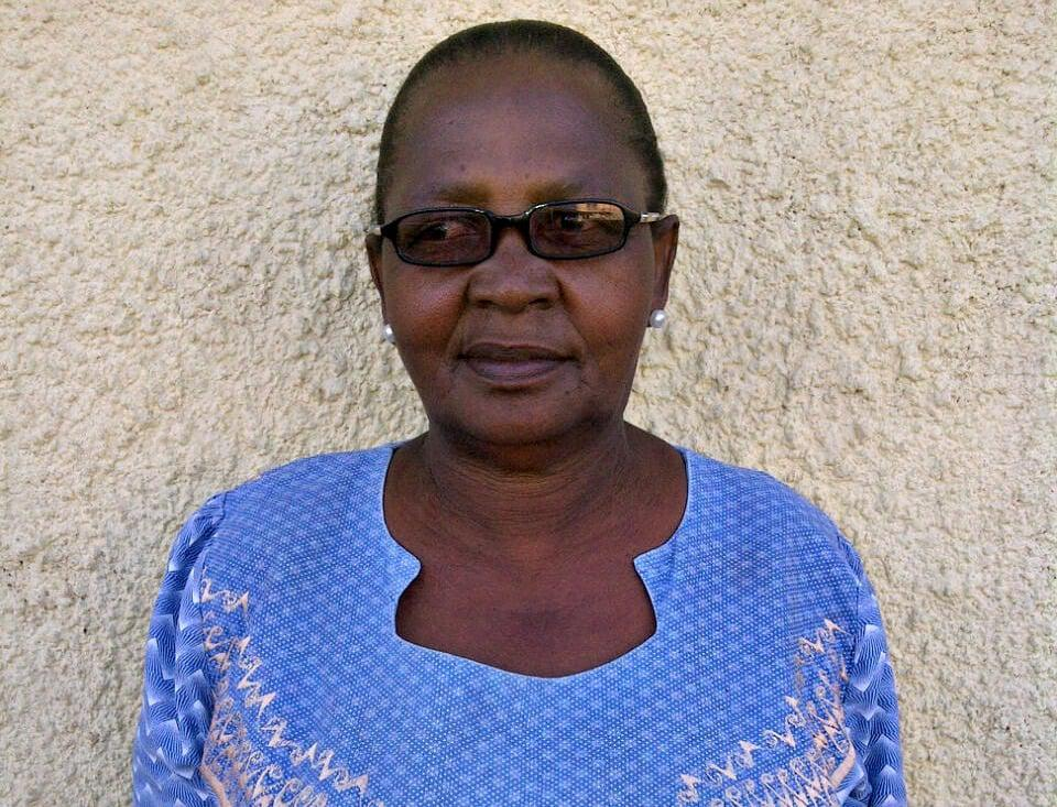 "Dimakatso Tsiane, 64  Home-based caregiver for people living with cancer  ""We started off as just a group of women who wanted to help people who were sick and didn't receive social grants. We helped take their children to school and we delivered food parcels to them. As a home-based caregiver, I would educate people about cancer, deliver medication…and bath those who were bedridden. I would also track (treatment) defaulters and encourage them to go back on treatment.  ""I had a patient who would stand at the clinic gate every day and would only enter when he saw me. He wouldn't allow the nurses to touch him if I wasn't with him.  ""Then we were told that we had to stop working. We were devastated for our patients. Now I survive on a pension grant"". After 14 years as a Free State home-based caregiver, Tsiane was dismissed without warning or cause on 16 April 2014."