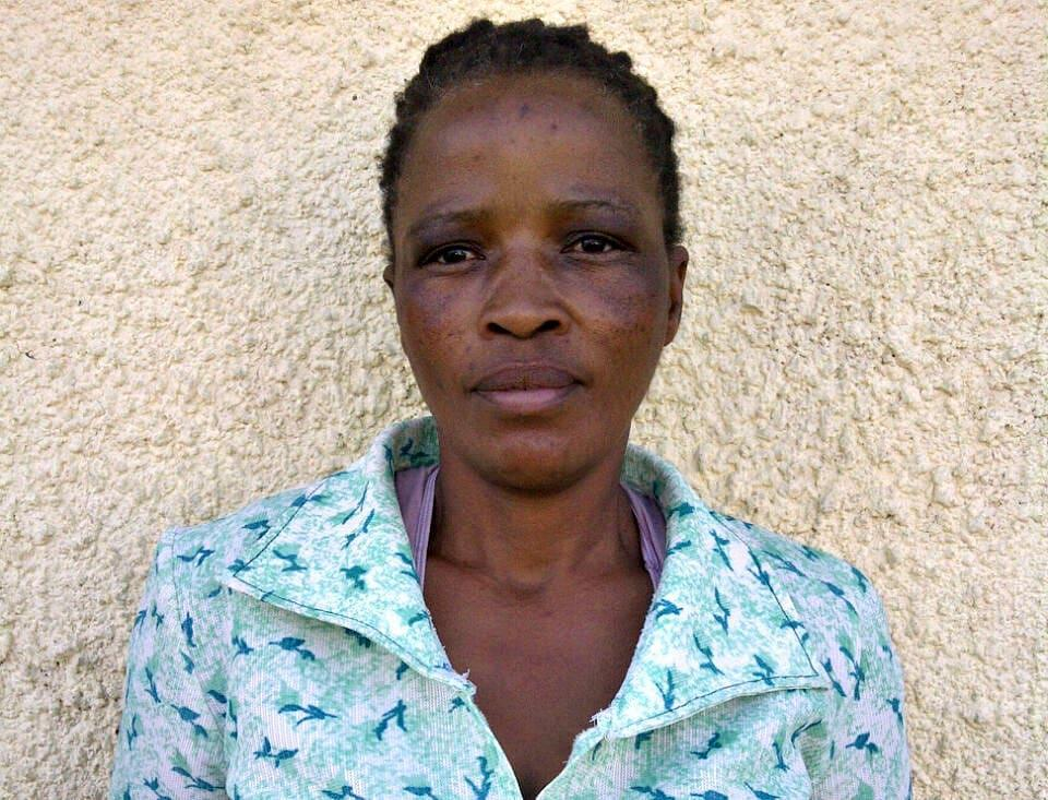 "Mantwa Medupe, 43  13 years as a community healthcare worker ""The love I have for helping people that are sick motivated me to become a community healthcare worker. Every day, I went into people's homes, bathed them and gave them their medication. I loved all my patients and I got along with most of them, although some were harder—some were even violent.  ""The department terminated our contracts, and the patients have been suffering ever since. I live with seven children— I don't have parents and my husband died long ago. We survive on child support grants now. It's never enough""."