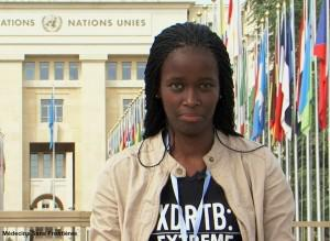 Tisile, 24, recently delivered her DR-TB patient rights manifesto to health ministers from around the world at the World Health Assembly in Geneva.