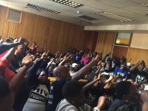 Free State community health workers in the Bloemfontein magistrate court