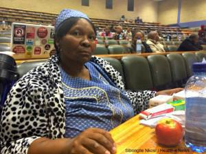 Despite nurses' warnings that her daughter would likely die at home, Anna Motaung said she was too afraid to leave her child in a Free State hospital. Her daughter later died. Motaung testified at the Free State inquiry.