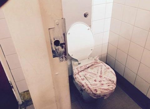 North West's loo-less library of shame