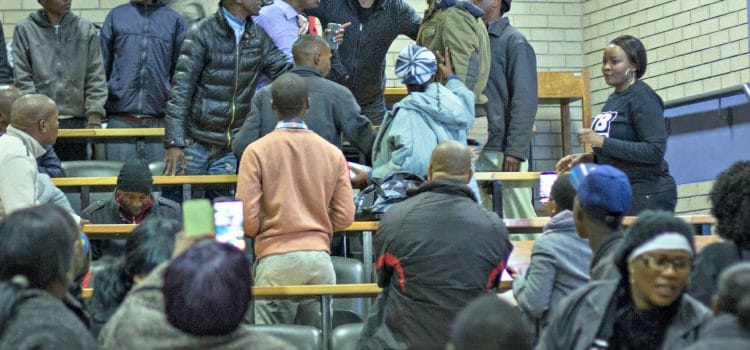 Fears of violence threaten Free State health hearing