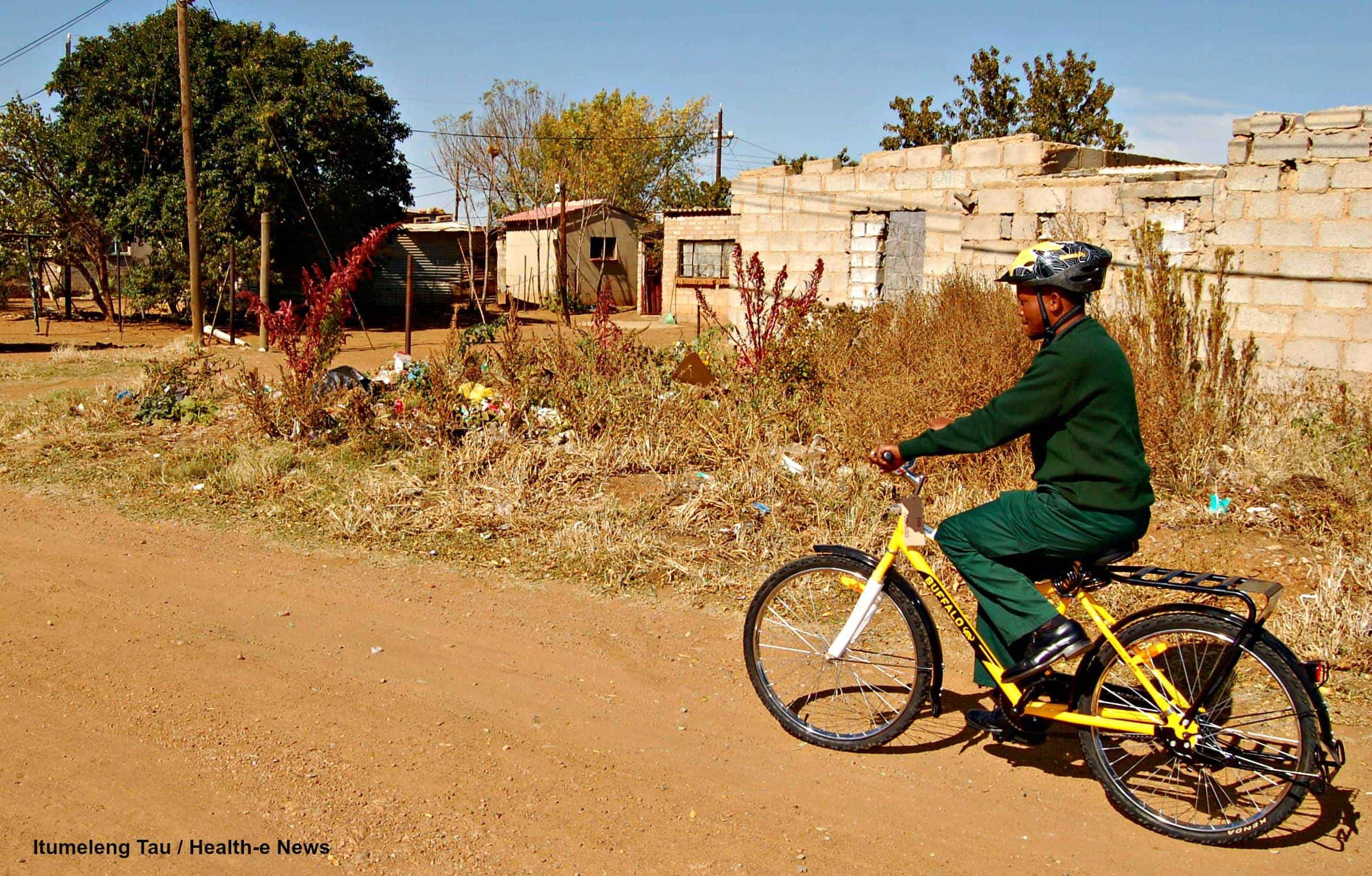 The more than 300 bikes recently distributed to the province's community health workers are the first of many, say the North West Department of Health