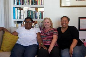 Rape Crisis counselling coordinators Joyce Nomxhego Doni, Shiralee McDonald and Barbara Williams.