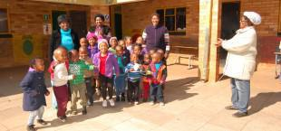 Toddlers at Thabong Creche 1 in Jouberton one of only a handful of day care centres available in the area