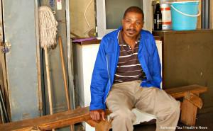 Dumisani Lwandle is a traditional healer living in the Jouberton Hostel. Lwandle's bogus HIV cure claims have sparked sharp criticism from the department of health, TAC and the North West Provincial AIDS Council