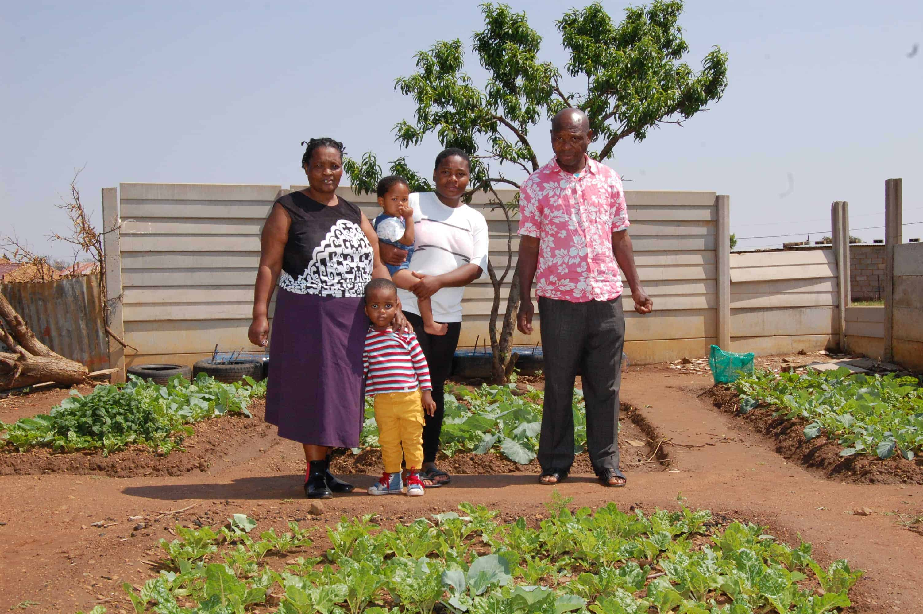 A backyard food garden sustains a North West family | Health-e thumbnail