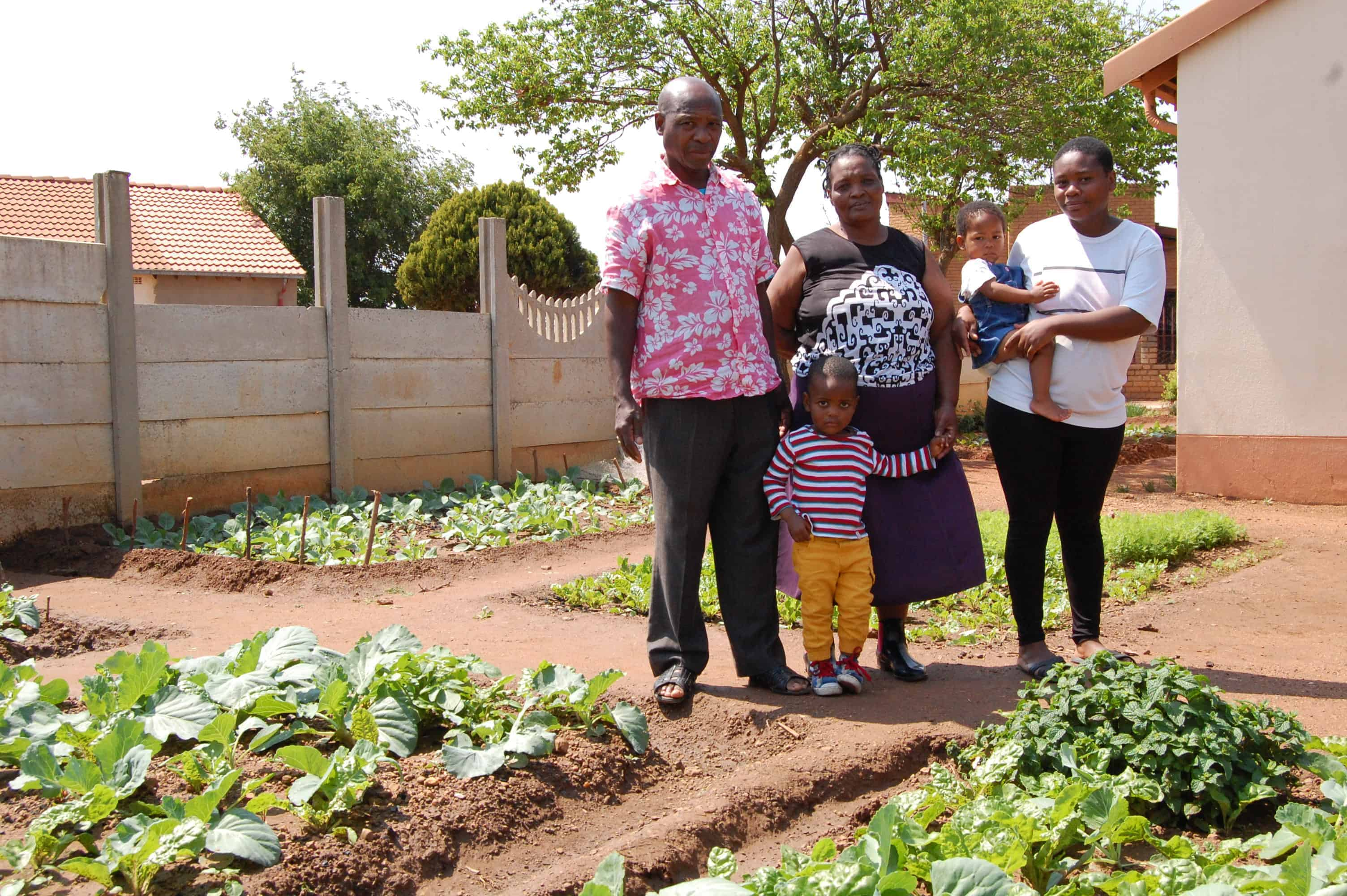 a backyard food garden sustains a north west family health e