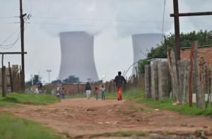 Greenpeace has conducted an investigation in Masakhane and eMalahleni (Witbank) to establish quality of life of those living on the border of the coal power stations. Photo credit @Greenpeace Africa / Mujahid Safodien2013