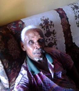 89-year-old David Morubisi, a pensioner from Wrenchville in Kuruman, is now struggling to apply for compensation without his documentaion