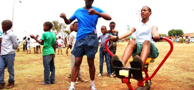 Outdoor gyms: Get a move on in Joburg