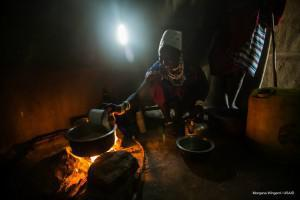 The indoor burning of wood and coal in countries like South Africa and Tanzania contributes drives poor air quality and can put children at risk. (File photo)