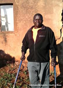 Since childhood, Shonisani Makhado has depended on crutches to assist him to walk and – like almost seven percent of disabled South Africans – Shonisani has no toilet.