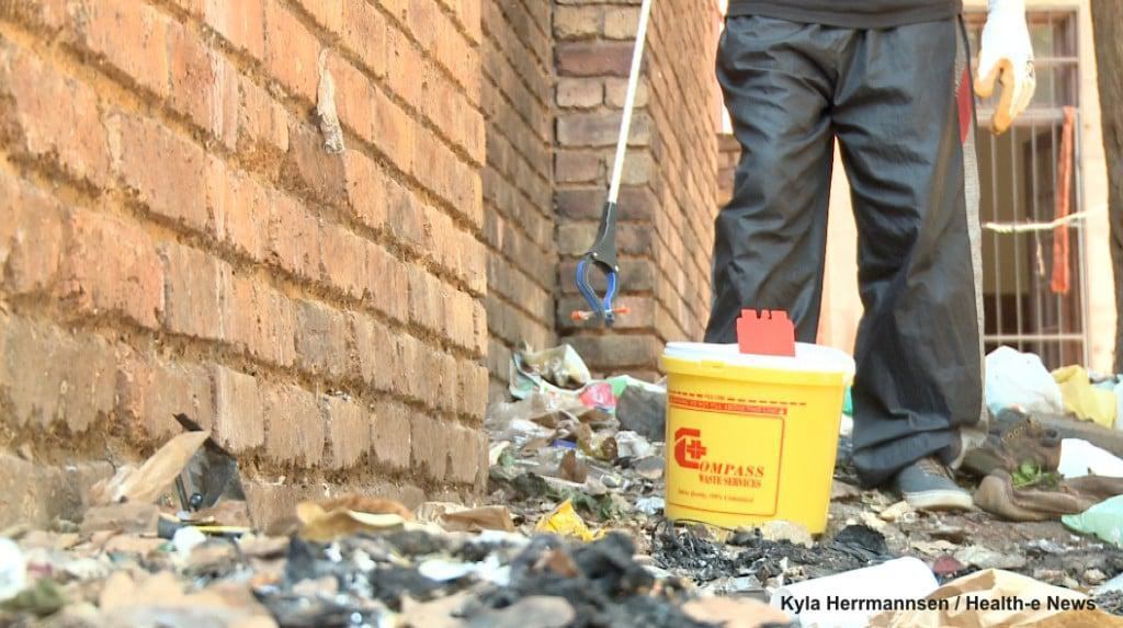 The Step Up Project runs one of South Africa's few needle exchange programmes. HIV/TB organisation Right to Care estimates that thre are more than 60,000 injecting drug users in South Africa