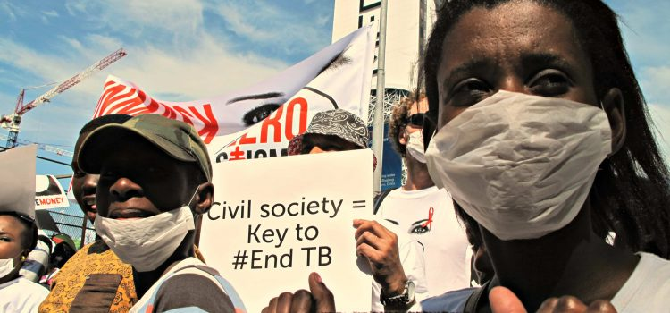 Protesters demand BRICS triple TB research funding