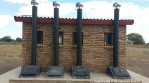In January, a former pupil lead the installation of these new toilets at Limpopo's Bale Primary School after Health-e News reported on the school's lack of toilets.
