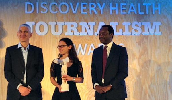 Health-e journalists scooptwo awards